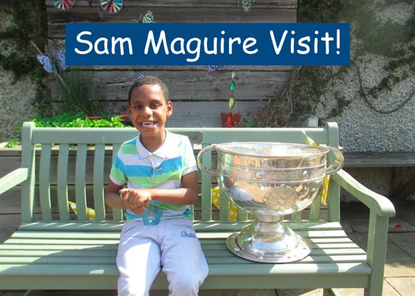 Sam Maguire Visit!